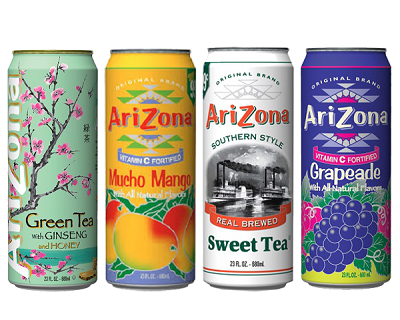 StreetDeal Food & Drink Deal: Bundle of 3: Arizona Drink! Option for 6 available.