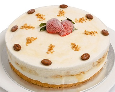 $28 for 1kg Yogurt Ice Cream Cake (worth $67) by Chat Box! Option with delivery avail...