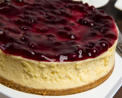 StreetDeal Food & Drink Deal: Blueberry Paradiso Cheesecake 1kg