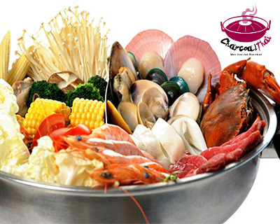 StreetDeal Food & Drink Deal: Steamboat Buffet Lunch/Dinner for Child (Worth $11) by Charcoal Thai, Vivo City! Option for Lunch / Dinner buffet for adults available