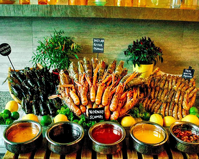 StreetDeal Food & Drink Deal: King River Prawn Buffet Dinner at Makan@Jen