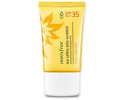 StreetDeal Health & Beauty Deal: Innisfree Eco Safety Daily Sunblock SPF35 PA++
