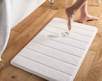 Discounts/Deals/Saving/Sales/ - 1 Unit : Memory Foam Bath Mat (Small - 43 x 60 x1.2 cm)