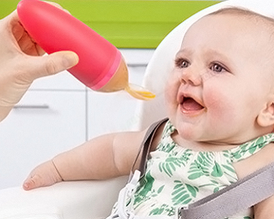 Discounts/Deals/Saving/Sales/ - Squeeze Baby Feeding Spoon