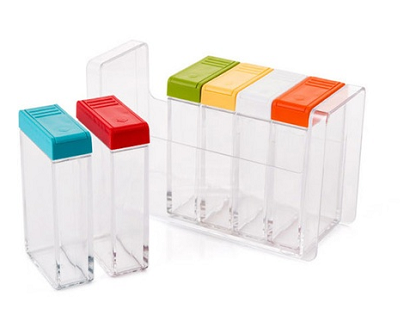 StreetDeal Other Deal: 6-Canister Spice Rack