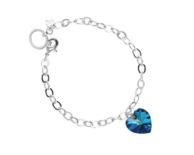 StreetDeal Fashion & Accessories Deal: So Charm Paris Bracelet Made with Crystals From Swarovski