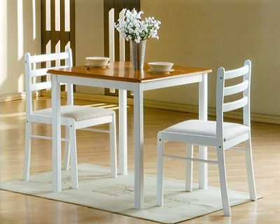 Discounts/Deals/Saving/Sales/ - Two Tone Dining Table Set