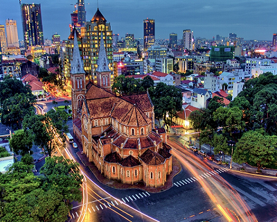 4Day 3 Night Ho Chi Minh Special! $368 per person with return air ticket on...