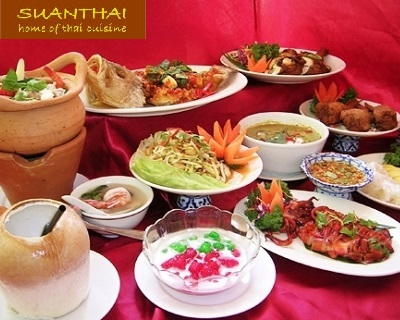 $15 for an Award-Winning SuanThai Buffet Lunch at Somerset!