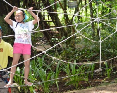 Ready, Set, Go: Rope Course for Children in Bohol, Philippines