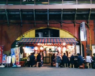 Enjoy a Walking Night Food Tour in Shimbashi