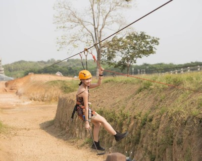 Cycling, Zipline and Farm Tour at Singha Park