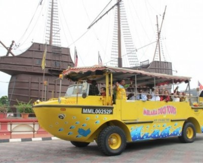 An Epic Land and Sea Sightseeing Adventure: Duck Tour Tickets in Melaka, Ma...