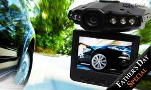74% off HD720P Portable DVR Car Blackbox with 2.5inch LCD Screen + 6 Months Warranty