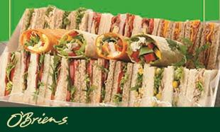 50% OFF O'Briens Irish Sandwich Cafe Cash Vouchers
