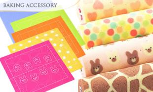 59% off a set of Kawaii DIY Japanese Deco Roll Baking Mat (5 pcs)