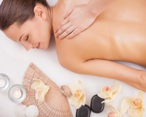 Swedish Full Body Massage or Back Scrub