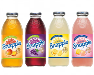 7 Flavours: Snapple Drinks
