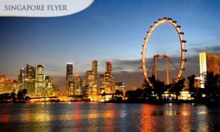 56% off Singapore Flyer + River Cruise + Captain Explorer DUKW Tour + SGD5 Food Trail Voucher