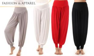 63% off Casual Long Bloomer Pants + FREE Delivery