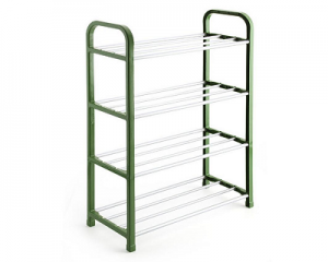 Durable Easy To Build DIY 4 Tier Plastic Shoe Rack