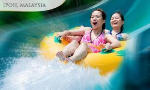 45% off 3D2N IPOH Sunway Lost World Hotel Stay + Theme Park & Hot Springs & Spa tickets + Tambun River Cruise Ride