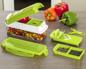 Ultimate Vegetables and Fruits Dicer in 11 ways