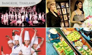 53% off BANGKOK ADD-ON: Calypso Cabaret Show/ Damnoen Saduak Floating/ Madame Tussaud Wax Museum