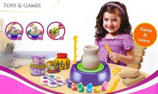 60% off CUTESUNLIGHT Pottery Wheel + FREE Courier Delivery
