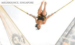 55% off Singapore Flyer + Megabounce + 6D XD Motion Theater Ride + River Cruise