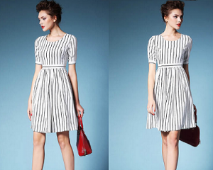 Pinstripe Dress (OBTO 4 01)