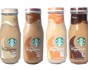3 Starbucks Bottle Drinks
