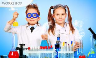 77% off 2-Day LITTLE PROFESSOR Science Discovery Workshop for Kids