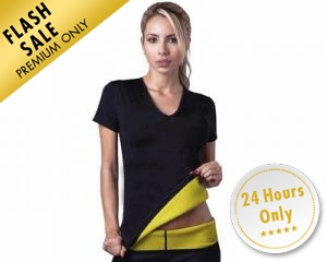 Hot Shapers Neoprene T-Shirt