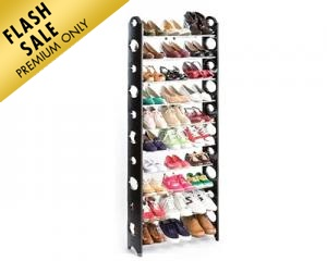 10-Layer Shoe Rack
