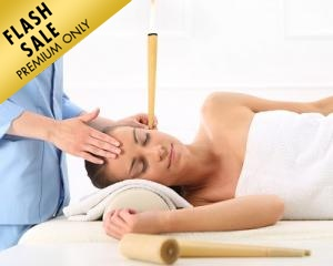 Ear Candling + Lymphatic Detox Massage