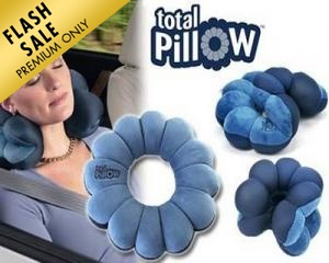 Versatile & Adjustable Total Pillow