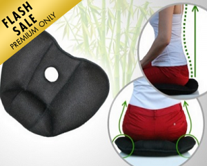 Bamboo Charcoal Therapy Cushion