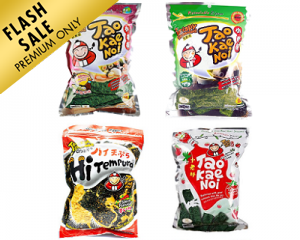 Bundle of 4: Tao Kae Noi Seaweed
