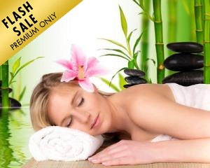 60-MIN Volcano Hot Stone Back Therapy